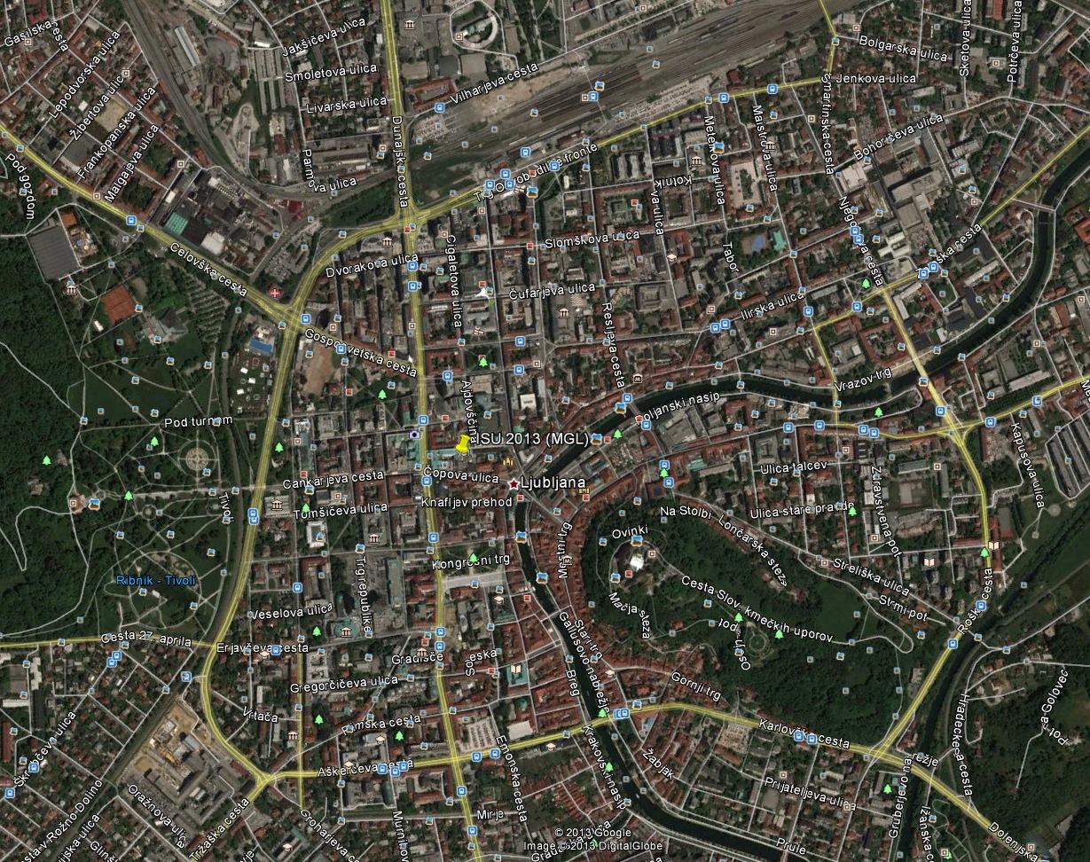 Maps from Google Earth & Google maps   ISU 2013 World Congress Google Earth Maps on google maps street view world, google maps street view location, google maps france, google maps update 2013, google maps 2014,