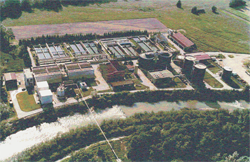 An experimental system for the control of wastewater treatment plants